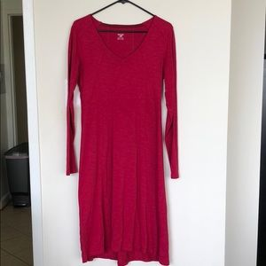 Toad & Co red dress